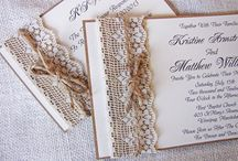 Stacey's Wedding / Stacey's ideas for her wedding design slave to create :)