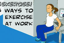 Stay Healthy at Work / Suggestions and tips you can do at work to maintain a healthy lifestyle.