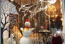 Новогодние витрины Одесса+