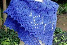 Вязание. Шали, палантины, снуды, шарфы, шапочки