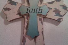 decorated crosses