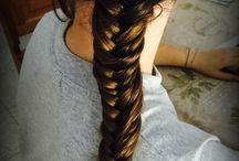 Pettinature by Fra / ~ Esperimenti di Fra con i miei capelli ~