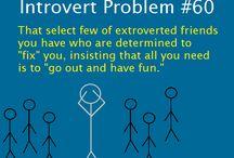 Introvert - INTJ/ISTJ