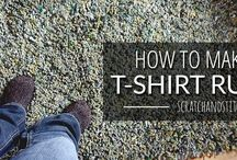 Upcycle T Shirts Ideas / Great ideas for upcycling t shirts - recycle t shirts into necklaces, quilts... Refashion T Shirts, UPcycle t Shorts, Reuse T Shirts