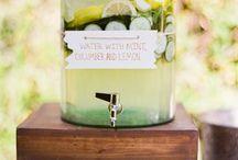 мятно-лимонная свадьба
