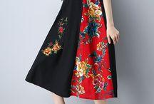 hobi dikiş elbise
