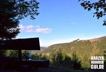 Wandern im Harz / Wandern im Harz bis auf den Brocken in 1.141 Meter Höhe. Fotos von Wanderungen quer durch das Mittelgebirge und regionalen Highlights im Harz.