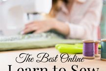 Learn To Sew / Online resources for learning how to sew