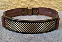 pulseiras de couro