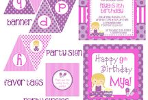 Printables party