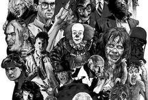 Black and White Horror