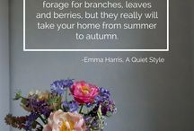 Summer to Autumn / We asked 25 interiors experts their top three tips for transitioning a home from Summer to Autumn.