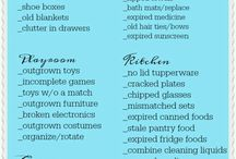 2018 Cleaning List