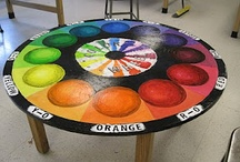 Hand Painted Tables / by Distinctive Artistry