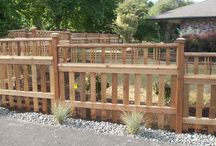 Fences / Cedar, vinyl and ornamental fence designs and inspiration. Basically a gallery of our work with some other good fences and ideas mixed in!