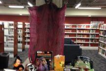 Happy Halloween / Halloween Library Display