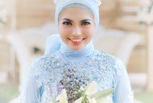 @wickkyhalim_mua / hijabbride