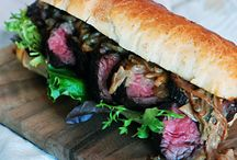 Steak Sandwich Recipes / by 640 Meats