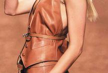 кожа - leather fashion