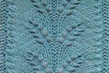 Pletene vzory svetry a saly