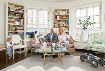 LINDSEY'S IN LONNY / Inspiring to see my friend and client's home profiled in Lonny Magazine