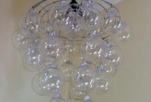 diy bubble chandellier