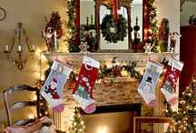 Christmas Mantels / by Between Naps On the Porch