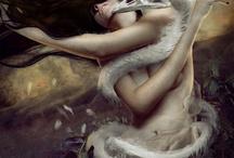 The Ledaean Body / The myth of Leda & the Swan
