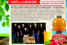 Meet Our Growers / Meet the farmers that help Langers Juice make great tasting juice by providing the best fruit
