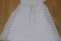 Crochered Christening Gowns