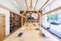 Creative Environments / Inspiration for our office space