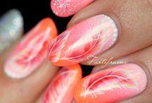 +++ nail art girly +++