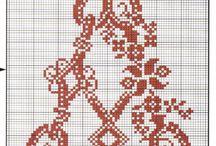 krzyżyki literki