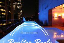 LA hotel pools / by Cassandra Koller