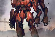 Гигантские роботы / Картинки с большими и огромными роботами.
