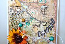 My works- scrapbooking / moja tablica- scrapbooking