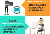 Infografías / Técnicas de estudio, motivación, superación
