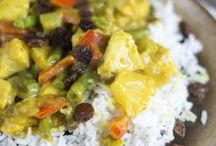 rijst en noedels gerechten
