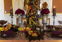 HERBSTKONZEPT glamour / FULMINANTER HOCHZEITSRAUSCH FÜR EINE HERBST-DIVA www.olga -fischer.de  Olga Fischer Wedding Planner Flower&Decor Design