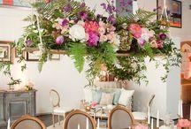 bunga ats meja makan