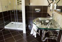 Koupelny / Koupelny v hotelu Arte
