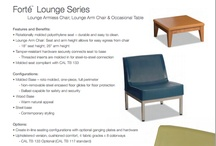 Norix Brochures / Norix offers a variety of fabrics, chairs, tables and other furniture essentials. The Forte series allows you to choose from over 3,500 furniture, fabric and base combinations. Seating and tables available for a variety of markets.