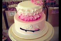 first cake