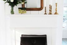 INTERIORS | Fireplace composition