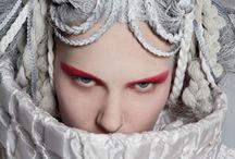 Haute Clown-ture / A modern day Haute Couture Fashion Spread