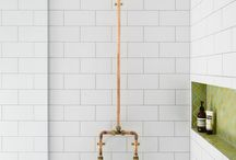 Bathroom inspiration / bathroom inspiration, bathroom design, toilet roll holder, contemporary design, bathroom, tiles