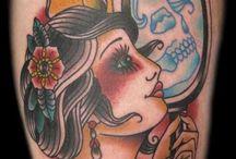 Tattoo's / Tattoo ideas unicorn girl.