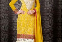 Designer Suits / Latest Party Wear Salwar Kameez Online from the largest indian cloths shopping portal 2014. Get free shipping on designer salwar suits at IndianSanskriti.com