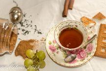 Breakfast Love / Colazione Tea Coffee Milk Latte Cappuccino Sweets Love / by Layale Sh
