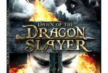 Dawn of the Dragonslayer / Will and his father live a simple life in the mountains. When Will's father is killed by a dragon, Will must journey down the mountain to find work squiring for Sterling, a once-wealthy land owner and knight. He soon befriends Sterling's headstrong daughter Kate, and the two of them begin working together to uncover the secrets of their families' connection and to prepare Will for his final battle with the dragon, in which he will avenge his father's death and prove himself a man.